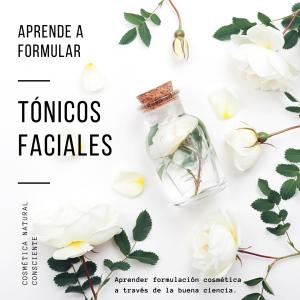 Cursos Gratuitos de Cosmética Natural - Tónicos Faciales Naturales