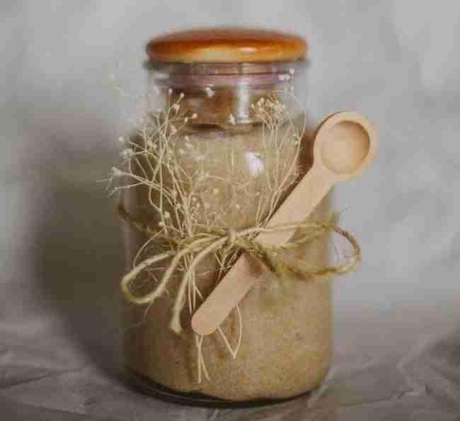 Exfoliante Azúcar para regalar cosmética natural